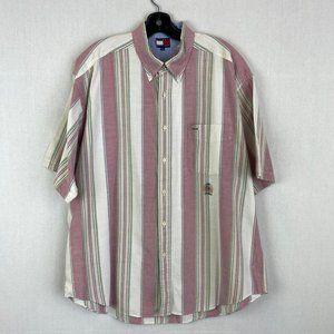 TOMMY HILFIGER Stripe Short Sleeve Shirt